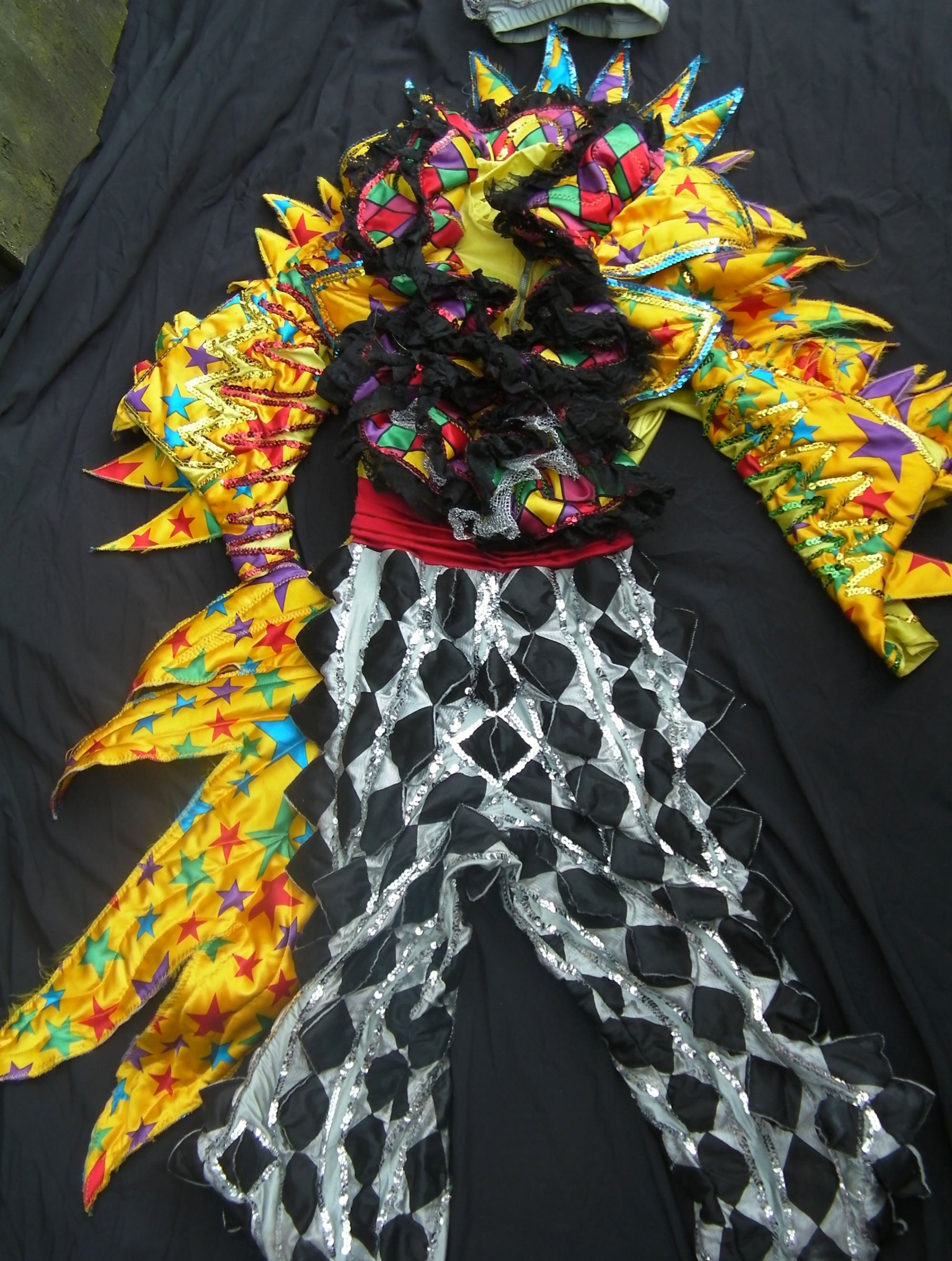 The 'Scrimple' costume