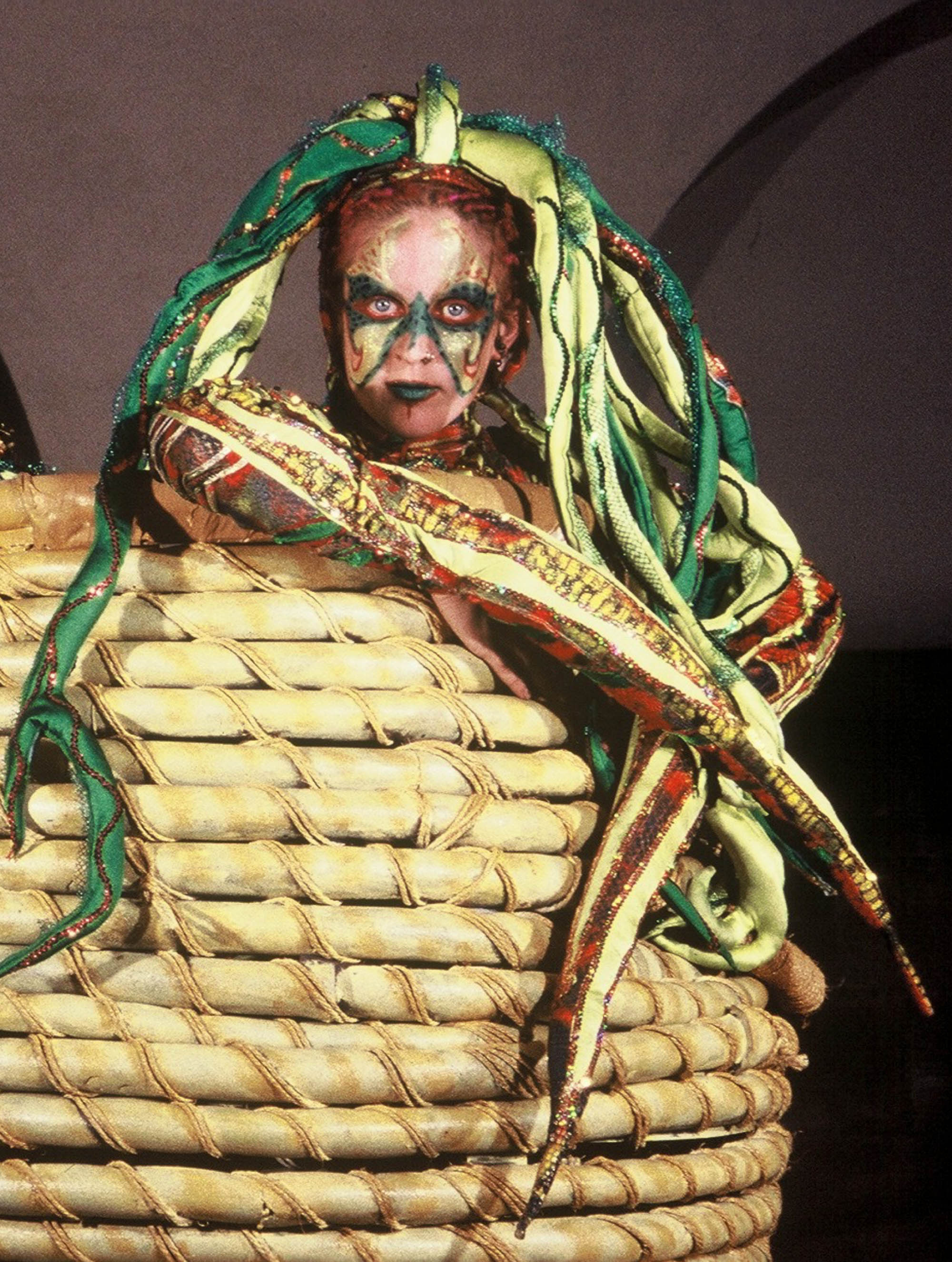 'Snake woman' from the show 'Rubicon'