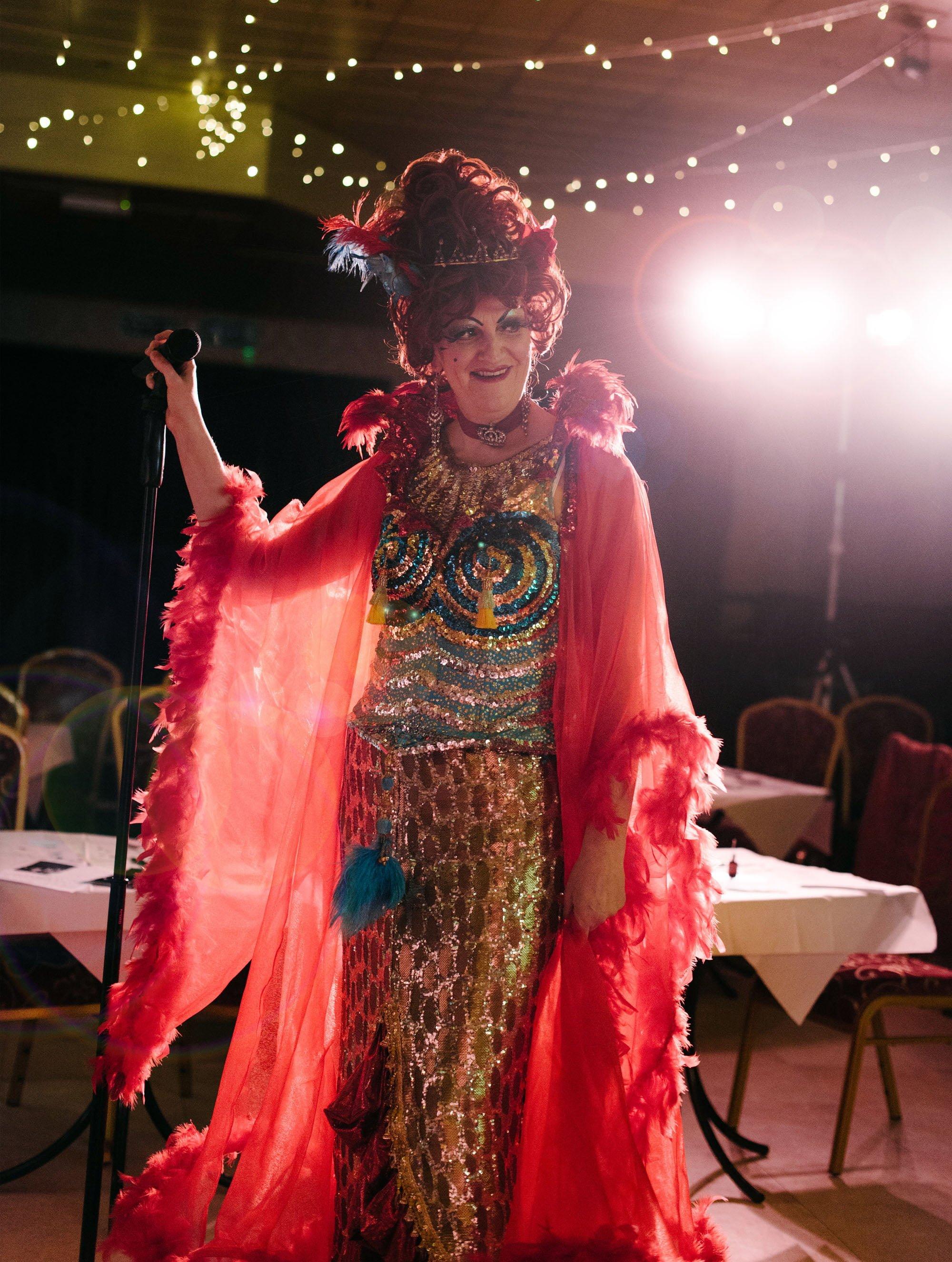 Mysi Valentine, from 'An Odd Occasion' cabaret show