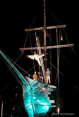 Ghost Ship – Rig for Albatross show