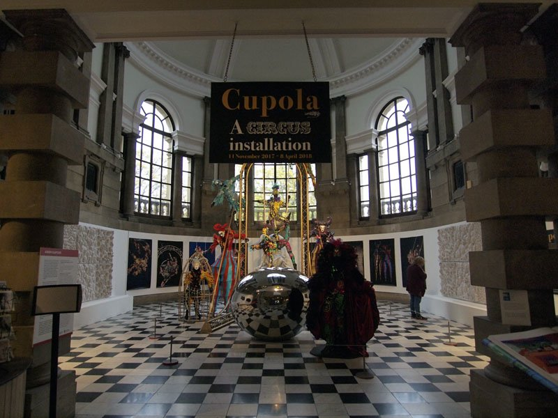 'Cupola' exhibition, Cartwright Hall Museum and Art Gallery, Bradford October 2017-march 2018